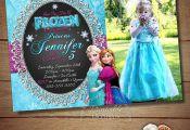 Frozen Birthday Invitation Frozen Birthday Party Frozen