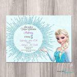 Frozen Birthday Invitation Frozen Printable by StyleswithCharm  Birthday, Frozen...