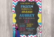 Frozen Birthday Invitation  Olaf Birthday by StyleswithCharm, $12.00