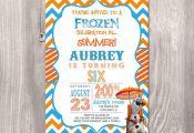 Frozen Birthday Invitation Olaf Birthday by StyleswithCharm