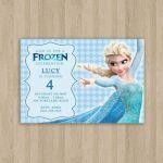 Frozen Birthday Invitation  Printable  Custom by CeMariePrints