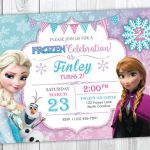 Frozen Birthday Invitation Printable, Frozen Invitation, Frozen Birthday Party I...