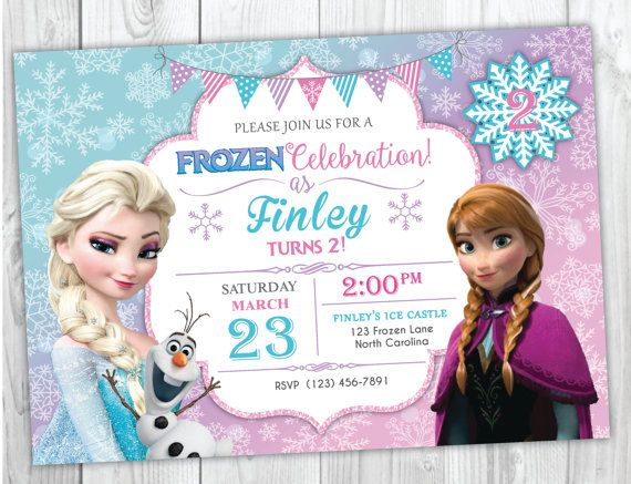 image about Frozen Printable Invitations referred to as Frozen Birthday Invitation Printable, Frozen Invitation