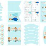Frozen Birthday Party + Printables via Kara's Party Ideas KarasPartyIdeas.com Th...