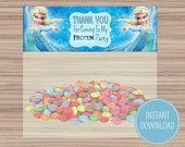 Frozen-Birthday-Themed-Childrens-Party-–-Party-Bag-Toppers-–-Organized-–-F Frozen Birthday Themed Childrens Party – Party Bag Toppers – Organized – F... Cartoon