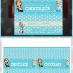 Frozen Candy Wrappers Blue Polka Dots // by ApothecaryTables