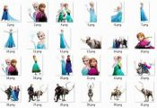 Frozen Clipart Frozen PNG frozen printable Anna and Elsa Frozen characters Clip ...
