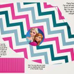 Frozen: Colored Free Printable Party Kit.