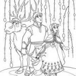 Frozen Coloring Page Ann Kristoff 214×300 FREE Frozen Printable Coloring & Acti...