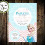 Frozen Elsa Birthday Invitation Frozen by WhiteTulipPaperie