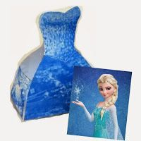 Frozen-Elsa-Free-Printable-Dress-Shaped-Box.-box-Dress-Elsa-free-Frozen-p Frozen: Elsa Free Printable Dress Shaped Box.  box, Dress, Elsa, free, Frozen, p... Cartoon