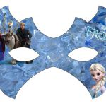 Frozen: Free Printable Mask.