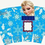 Frozen Free Printable PopCorn Boxes.