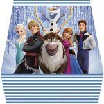 Frozen: Free Printable Purse Invitations.