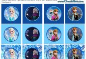 Frozen: Free Printable Toppers. | Oh My Fiesta! in english