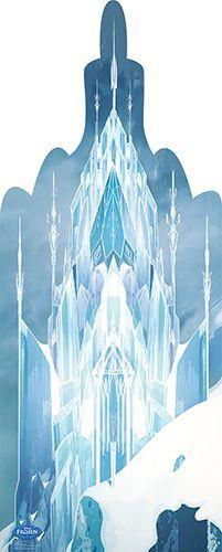 Frozen-Ice-Castle-Frozen-Lifesize-Cardboard-Cutout Frozen Ice Castle - Frozen Lifesize Cardboard Cutout Cartoon