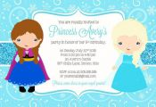Frozen Invitation // FROZEN Party Invitation // Frozen Birthday Invitation // Fr...