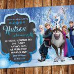Frozen Invitation Frozen Birthday Invitation Frozen Birthday