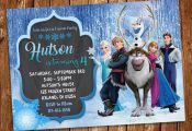 Frozen Invitation Frozen Birthday Invitation Frozen Birthday