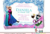 Frozen Invitation Professinally Printed, Digital file available by SweetPartyPri...
