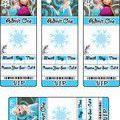 Frozen Invitations 2 Invitations
