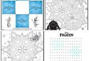Frozen Movie Review Plus Fun Printable Activities for the Kids