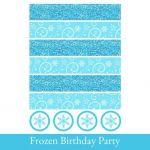 Frozen Napkin wrappers, Napkin Holders printable, Napkin wrappers Printable, Fro...