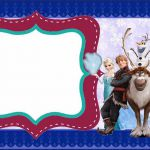 Frozen Party: Free Printable Invitations.