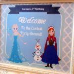 Frozen Printable Birthday Party Sign 8x10 by SweetCarolinesStudio, $8.00