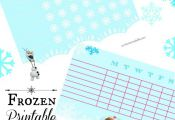 Frozen Printable Chore Charts to Keep your Kids Motivated to Help Clean!   Our H...