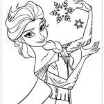 Frozen Printable Coloring Pages Wallpaper