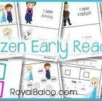 Frozen Printable Early Reader