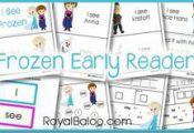 Frozen Printable Early Reader