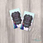 Frozen Printable Favor Tags Frozen DIY Favor by StyleswithCharm