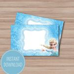 Frozen Printable Food Tents - Frozen Birthday Party - Frozen Party - Frozen Part...