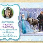 Frozen Printable, Frozen Birthday Invitation, Anna Elsa, Frozen Movie, Winter bi...