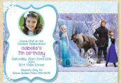 Frozen Printable, Frozen Birthday Invitation, Anna Elsa, Frozen Movie, Winter bi...