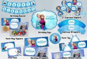 Frozen Printable Party Package