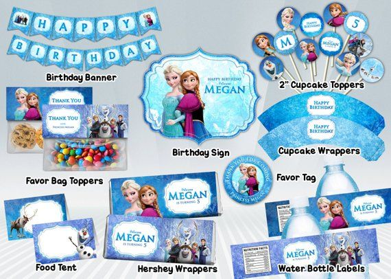 Frozen-Printable-Party-Package Frozen Printable Party Package Cartoon