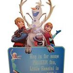 Frozen Printable customised print/frozen decoration/frozen cutout/frozen party s...