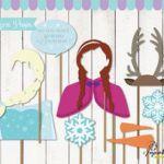 Frozen Props for Frozen Birthday Party. Instant Download Frozen Printables. DIY ...