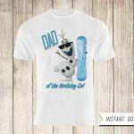 Frozen Shirt Transfer Iron On-Disney Frozen Printable Shirt-Frozen Birthday Part...