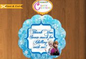 Frozen Stickers - Gift Tags -Treat Bag Label-Printable Birthday Party Thank You ...