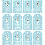 Frozen etiquetas Favor / gracias etiquetas / / por SugarPickleParty