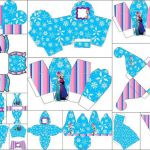 Frozen in Christmas:  Free Printable Boxes.