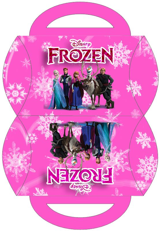 Frozen-in-Pink-Free-Printable-Boxes Frozen in Pink Free Printable Boxes. Cartoon