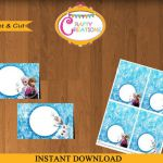 Frozen printable food tent Frozen Food Tents by CraftyCreationsUAE, $3.50