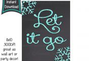 Frozen printables , 8×10 printables – DIY – digital file by CupcakeTops on ...