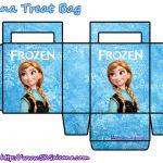 Frozen treat bags: Anna