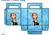 Frozen treat bags: Anna